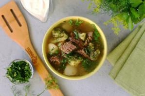 Овощной суп с говядиной - фото шаг 8