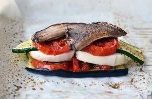 Закуска из печеных овощей с сыром - фото шаг 7