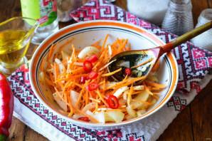 Закуска из лука и моркови - фото шаг 7