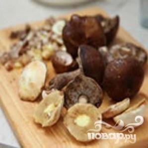 Заливной пирог с грибами - фото шаг 1
