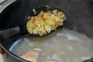Суп из сушеных грибов с перловкой - фото шаг 13