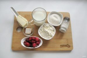 Дрожжевой пирог с малиной - фото шаг 1