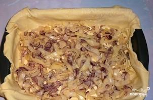 Слоеный пирог с курицей и картошкой - фото шаг 8