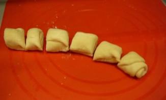 Конвертики с сыром - фото шаг 6