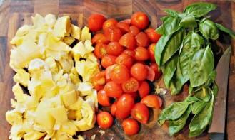 Равиоли в томатном соусе - фото шаг 1