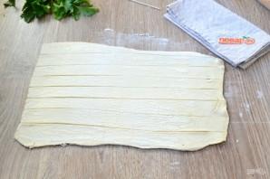 Сосиски в тесте на шпажках - фото шаг 2