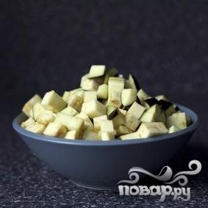 Тосты с салатом из баклажанов - фото шаг 1
