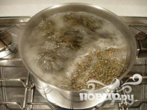 Теплый салат из чечевицы - фото шаг 3