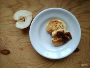 Сырники с грушами - фото шаг 6