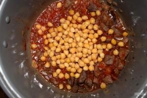 Нут с говядиной и овощам - фото шаг 5