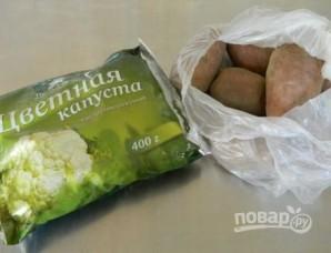 Суп-пюре постный - фото шаг 1