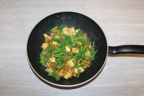 Рис с курицей и фасолью - фото шаг 7