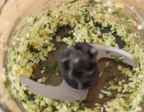 Сметанный соус с зеленью - фото шаг 3