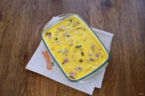 Запеканка из белой рыбы с креветками в томатном соусе - фото шаг 5