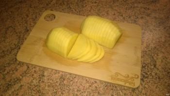 Запеченный картофель с грибами - фото шаг 5