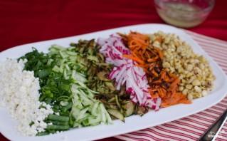 Дачный салат - фото шаг 6