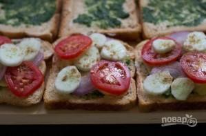 Сэндвичи дома - фото шаг 2