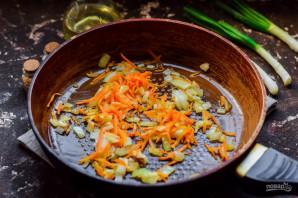 Салат с куриной печенью и горошком - фото шаг 3