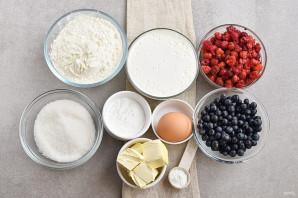 Пирог с ягодной начинкой - фото шаг 1