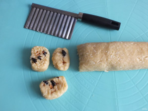 Кокосовое печенье с фруктовой начинкой - фото шаг 9
