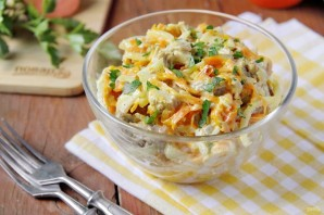 Салат из свинины и моркови - фото шаг 8