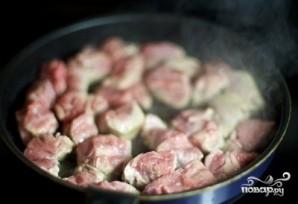 Мясо с лисичками - фото шаг 5