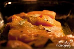 Запеченные филе лосося Дижон - фото шаг 3