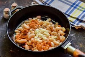 Фасоль в сливочном соусе - фото шаг 7