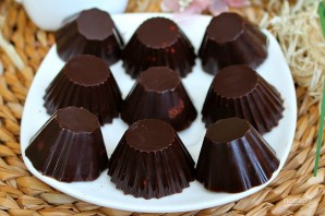 Шоколадные конфеты с орехами - фото шаг 10