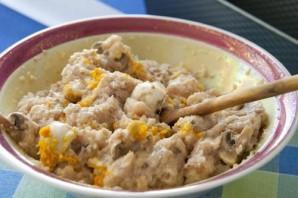 Куриный паштет с грибами - фото шаг 6