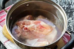 Холодец из куриных бедрышек - фото шаг 3