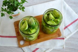 Острые зеленые помидоры с перцем и чесноком - фото шаг 8