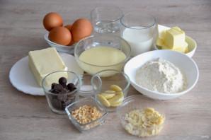 Профитроли с масляным кремом