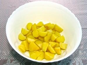 Картофельный салат с тунцом - фото шаг 4
