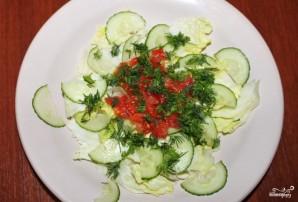 Салат из пророщенной чечевицы - фото шаг 6