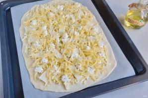 """Итальянская пицца """"Четыре сыра"""" - фото шаг 7"""