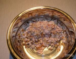 Салат с курицей и красной фасолью - фото шаг 1
