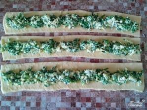 Пирог со шпинатом и сыром - фото шаг 5