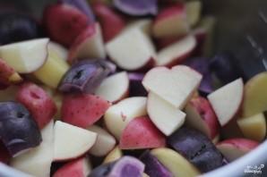 Картофельный салат без майонеза - фото шаг 1