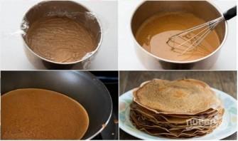 Торт из блинов с шоколадным муссом - фото шаг 2