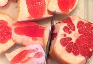 Салат с фенхелем, рукколой и апельсином - фото шаг 5