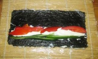 Вегетарианские роллы - фото шаг 9