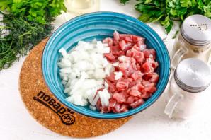Айва фаршированная мясом - фото шаг 2