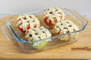 Яблоки, фаршированные карамелизированной сливой - фото шаг 6