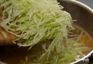 Борщ со свежей капустой - фото шаг 5