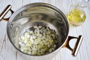 Суп со шпинатом и белой фасолью - фото шаг 2