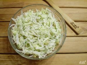 Салат из редиски дайкон - фото шаг 5