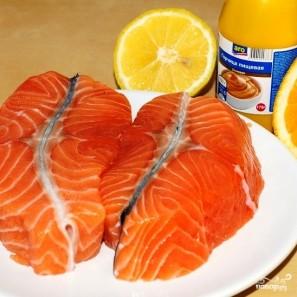 Семга под апельсиновым соусом - фото шаг 1