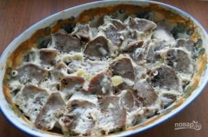 Язык свиной, запеченный в духовке - фото шаг 6
