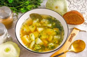 Суп из патиссонов